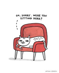 Oh, Sorry (I'm not Sorry) by gemma correll, via Flickr