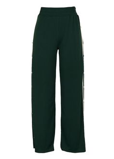 Mid Rise Button Down Wide Legs Pants_Women Leggings_Women Clothes_Sexy Lingeire | Cheap Plus Size Lingerie At Wholesale Price | Feelovely.com