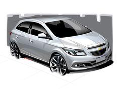Chevrolet Onix Design Sketch