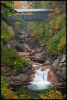 Covered Bridge in New Hampshire.