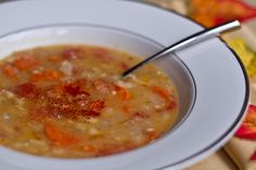 easy white bean soup.