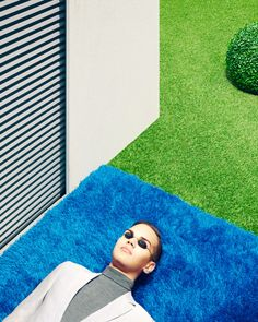 Clemens Ascher photographs a fictional indoor garden complex