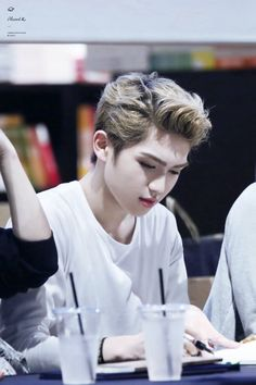 151017 UP10TION Gangnam Fansigning Event  Gyujin  Cr: _PlanetX