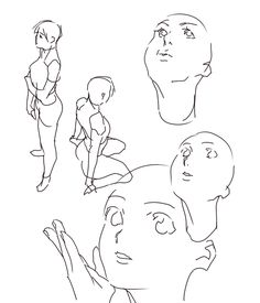 Drawing Reference Poses, Figure Reference, Drawing Tips, Art Reference, Drawing Poses, Cartoon Tutorial, Tutorial Draw, Gesture Drawing, Body Drawing