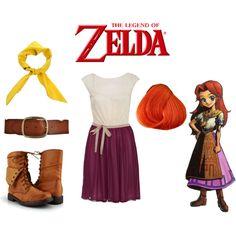 """Legend of Zelda Malon"" by andydrinkscoffee on Polyvore"