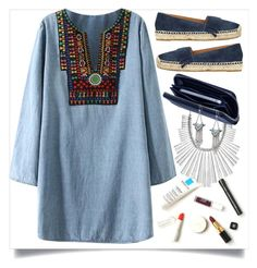 """Casual weeknight"" by adduncan ❤ liked on Polyvore featuring Lucky Brand, Chicnova Fashion, Marc Fisher, Lili Radu, Steve Madden, women's clothing, women, female, woman and misses"