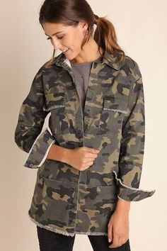 Camo Jacket by Umgee