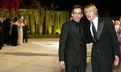 Owen Wilson & Ben Stiller: Ben Stiller and Owen Wilson stand at the Starsky and Hutch premeire
