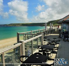 The clues in the name: The Beach Restaurant at Senne Cove near Penzance