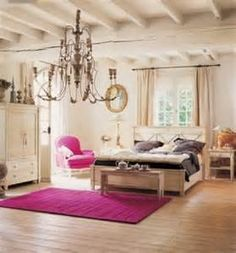 I love the openness in this room