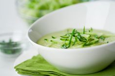 Secret Cucumber Avocado Detox Soup! Double whammy! www.draxe.com #avocado #recipe #avocadosoup #cucumber #detox #detoxsoup