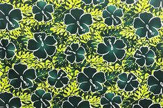 polyester and cotton fabric. Colors and shapes of this picture may vary from the original fabric. [Additional information below is based on a yard of this material] Hawaiian Print, Playsuit, Cotton Fabric, Shapes, The Originals, Green, Pictures, Color, Jumpsuits
