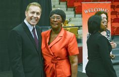 During Claflin's alumni convention: Boeing official at Claflin University: we'll do great things together.  Claflin also received a $500000 check from Orangeburg county to help build a campus health and wellness center