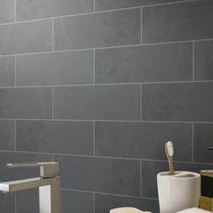 EliteTile Rama x Porcelain Wood Look Tile in Blanco Stone Mosaic Tile, Marble Mosaic, Mosaic Wall, Mosaic Glass, Wall Tiles, Backsplash Tile, Marble Wood, Backsplash Ideas, Ceramic Subway Tile