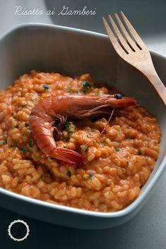 Pan di Ramerino: Risotto alla cremina di gamberoni