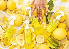 Let's chat about the key ingredients! 🍋 Lemon extract is full of vitamin C which helps brighten your complexion and reduces hyperpigmentation. 💦Hyaluronic acid is like a glass of water for your skin, providing moisture to your barrier and reducing wrinkles. 🌱Aloe is a soothing moisturizer that protects the skin and heals irritation 💛Vegan collagen plumps out wrinkles and reduces the signs of aging Are you excited to get Lemonade?! Act fast Lemon Extract, Body Mist, Hyaluronic Acid, Vitamin C, Face And Body, Collagen, Lemonade, Aloe, Mists