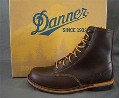 Details about Danner Stumptown Mens Forest Heights Olmsted Red ...
