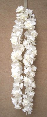 Michaels.com Wedding Department: Ashland™ Classic Traditions Collection White Floral Chain Garland This White Floral Chain Garland from the Classic Traditions Collection is ideal for the do-it-yourself wedding, shower or luncheon.