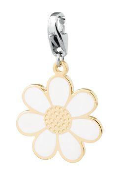 Ciondolo donna S Agapo Happy fiore bianco SHA50