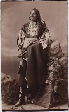 mystic-rhythms:    White Eagle Ponca Chief (by John K. Hillers)