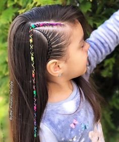 Little Girl Hairstyles Haircuts For Wavy Hair, Little Girl Hairstyles, Short Hairstyles For Women, Hairstyles Haircuts, Braided Hairstyles, Cool Hairstyles, Children Hairstyles, Beautiful Hairstyles, Medium Hair Styles
