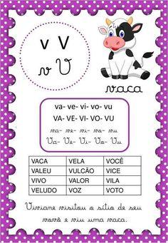 Alfabetização: fichas de leitura das consoantes - Espaço Educar