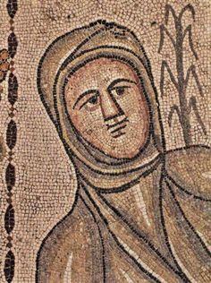 Casa de Baco, Complutum - Alegoría del Invierno, Mosaico de las Estaciones