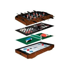 News Franklin Sports 6-In-1 Table Top Game Center   buy now     $125.99 The Franklin Deluxe 6-In-1 Game Center features the following games Zero Gravity Sports Hockey, Foosball, Table Tennis, Chess... http://showbizlikes.com/franklin-sports-6-in-1-table-top-game-center/