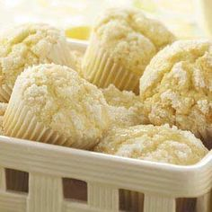 Lemon Crumb Muffins from Taste of Home -- shared by Claudette Brownlee of Kingfisher, Oklahoma