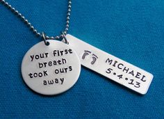 Hey, I found this really awesome Etsy listing at https://www.etsy.com/listing/166022788/hand-stamped-mothers-necklace