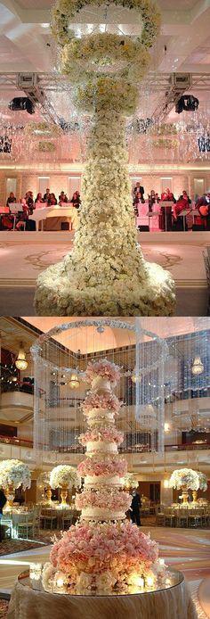 huge wedding cake