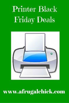 Printer Black Friday Deals | A Frugal Chick #blackfridaydeals