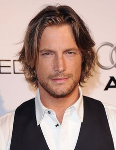 Pin for Later: 15 Hot Celebrity Guys Who Make the Man Bob Cool Gabriel Aubry When you're a male model like Gabriel, any hair length works. But this longer look really makes his eyes smolder (seriously, is he smizing?).