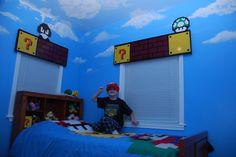 Super Mario Room | My son's new, fun Super Mario room. | badjustice | Flickr