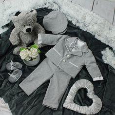 Special Occasion Boys Casual Grey Suit – BabyUniqueCorn