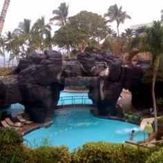 Hilton Waikola Resort Pool in Kona, Hawaii!!!