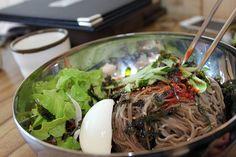 Makguksu: Cold Buckwheat Noodles