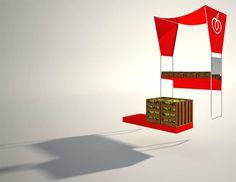 Ciboprossimo architettura mercati banco vendita idee e sogni FG SA studio di…