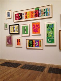 Matisse cut outs at the Tate Modern. #art #artists #matisse