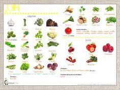 """Résultat de recherche d'images pour """"legume par saison"""""""