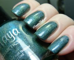 Maya Cosmetics Nefarious Aquarius - Swatches and Review   Pointless Cafe