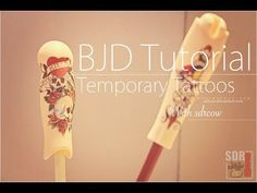 BJD Tattoo Tutorial: this man is amazing (check out his other videos)