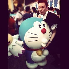 SOMETHING' BOUT THE KISS  #doraemon - @yvesyamazaki- #webstagram