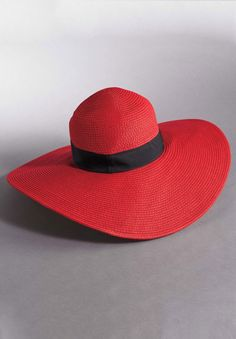 Wide Brim Straw Hat | Plus Size Hats | Woman Within