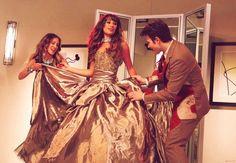 Rachel Berry in Marchesa ( Glee 4 )