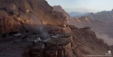 Bandit Mountain Camp from Assassin's Creed Origins