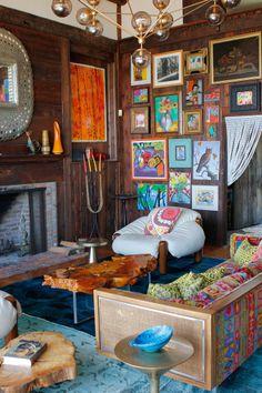 Nanette Lepore's Groovy Amagansett Cabin. The Glamourai