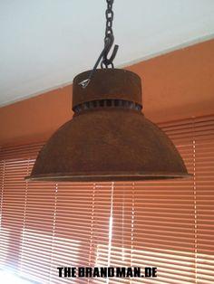 Deckenlampe Industrielampe Garagenlampe von NIXVONDERSTANGE auf Etsy