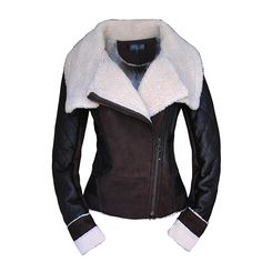 Women's Winter Fashion ONE FUR Coat Turn Down Collar Female Sheepskin