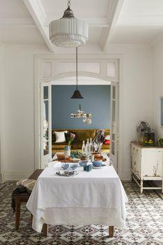 Inspiratieboost: een tafelkleed met een Scandinavische look - Roomed